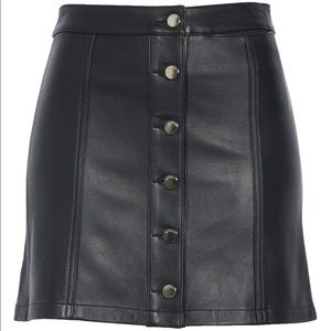 Rag & Bone Rosie Lambskin Skirt NWT